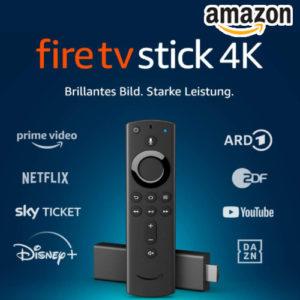 52% Rabatt auf Fire TV Stick 4K Ultra HD