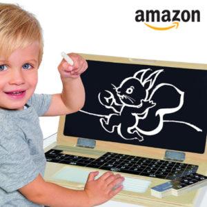 Für 16,36€ Holzlaptop mit Puzzle bei Amazon