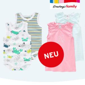 Ab 4,99€ Unterwäsche bei Ernsting's Family