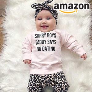 Ab 8,99€ süßes 3 teiliges Outfit bei Amazon
