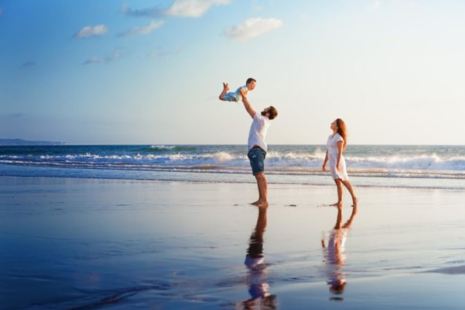 Die Elternzeit ist ideal für Familienurlaub