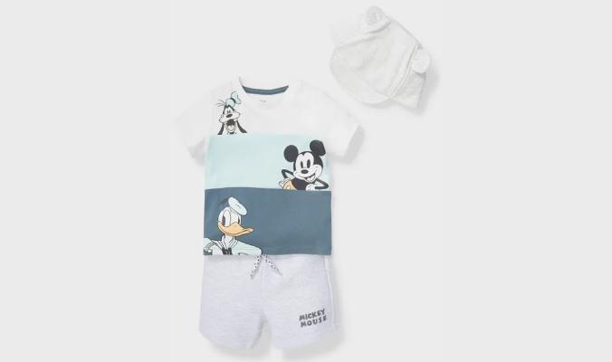 Disney - Baby-Outfit - Bio-Baumwolle - 3 teilig