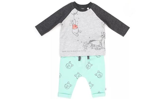 Winnie Puuh und Freunde - Set aus Langarm-Shirt und Hose für Babys