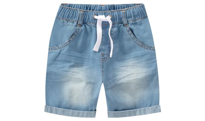 Baby Shorts aus leichtem Denim