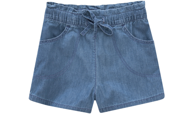 Mädchen Shorts im Denim-Look