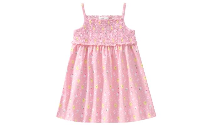 Baby Kleid mit gesmoktem Oberteil