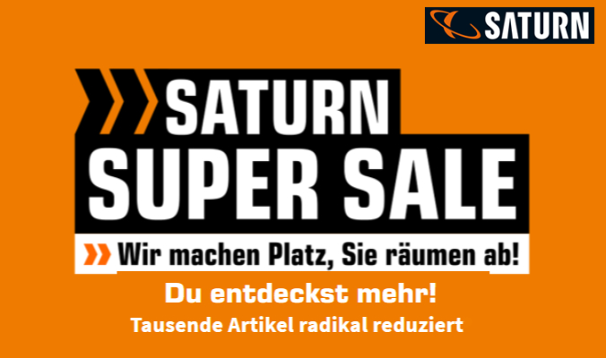 Saturn Super Sale