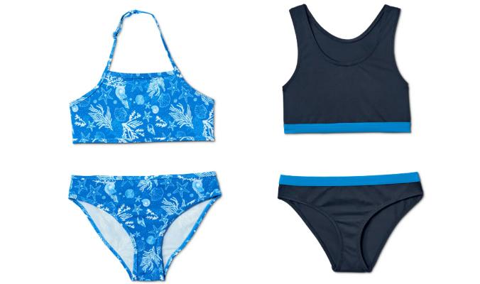 Bikini-Set mit recyceltem Material