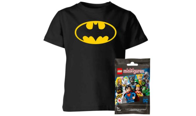 Batman T-Shirt und Figuren