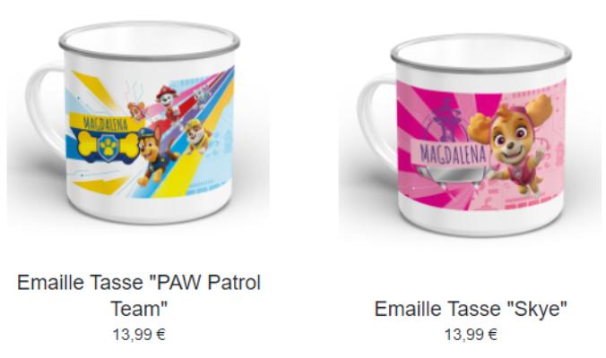 Paw Patrol Tasse