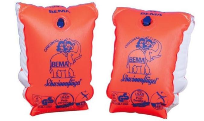Original Schwimmflügel, orange, Größe 0, 11-30 kg, 1-6 Jahre