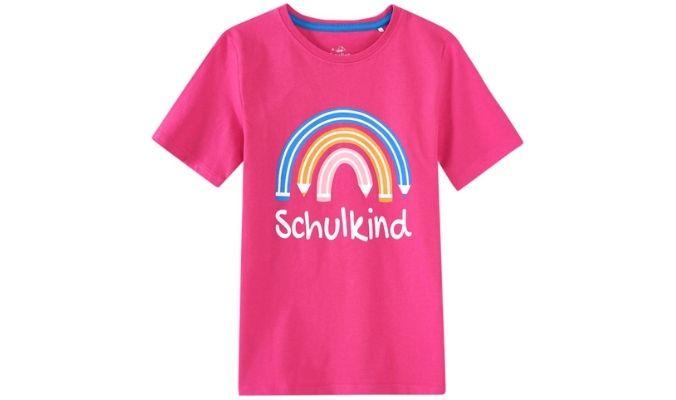 Mädchen T-Shirt zur Einschulung