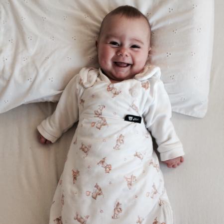 Baby in Schlafsack