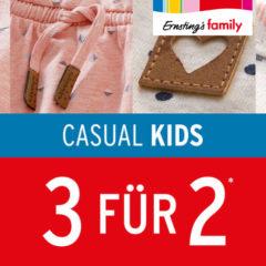 3 für 2 Aktion Kindermode