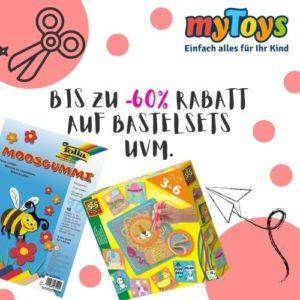 Ab 2,29€ Sale auf Basteln & Malen bei myToys