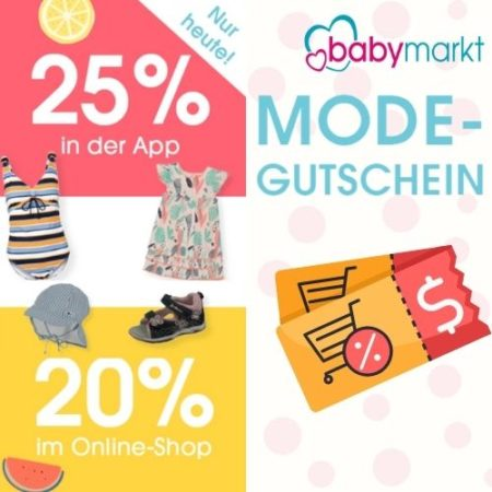 Babymarkt Gutscheincode