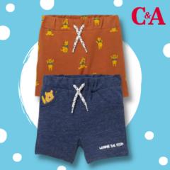 Winnie Puuh Baby Shorts