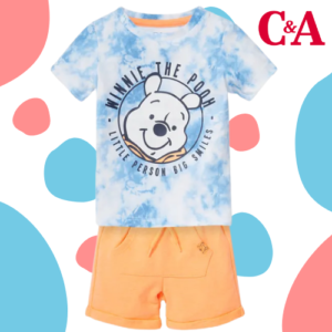 -27% auf Winnie Puuh Baby Outfit bei C&A