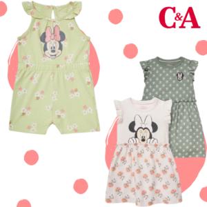 Ab 1,99€ Minnie Maus Mode bei C&A