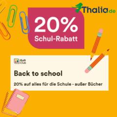 20% Rabatt bei Thalia