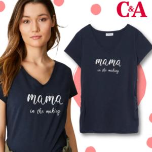 -40% auf Umstands T-Shirt bei C&A