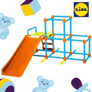 Für 139€ Lil Monkey Klettergerüst bei LIDL