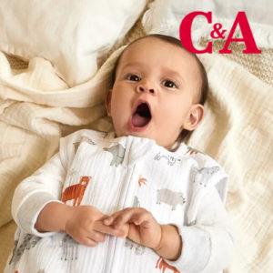 Ab 3,99€ Nachtwäsche für Babys bei C&A
