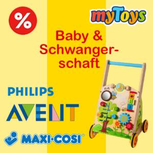 Bis zu 60% Rabatt auf Babyprodukte bei myToys