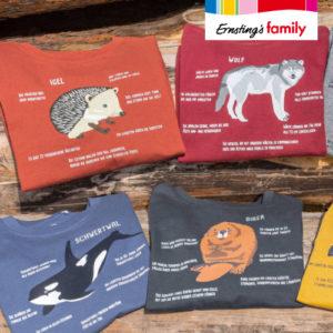 Für 9,99€ Tierwelt Kindermode bei Ernsting's Family