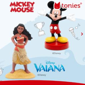 Neue Tonies: Disney Vaiana, Mickey Maus und viele mehr!