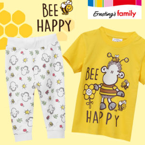 Ab 3,99€ Kindermode Be Happy bei Ernsting's Family