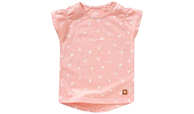 Mädchen T-Shirt mit Möwen-Allover