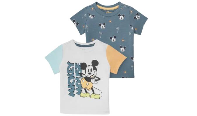 Micky Maus - Baby-Kurzarmshirt