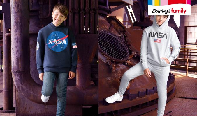 NASA Kindermode