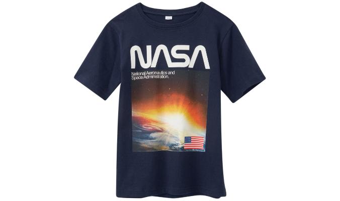 NASA T-Shirt mit großem Print