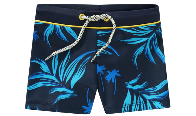 Baby Badehose mit Allover-Print