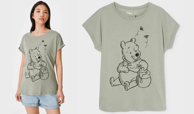 T-Shirt - Bio-Baumwolle - Winnie Puuh