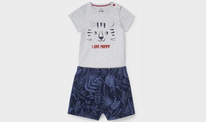 Baby-Shorty-Pyjama