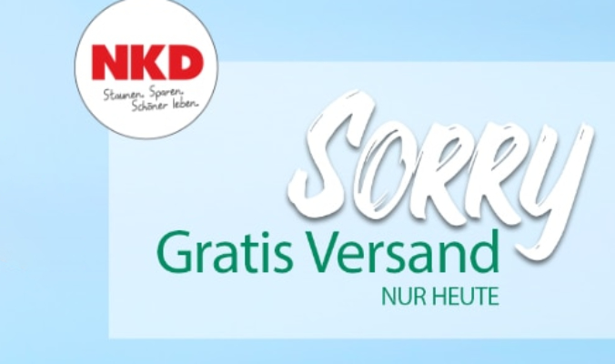 NKD Versandkostenfrei
