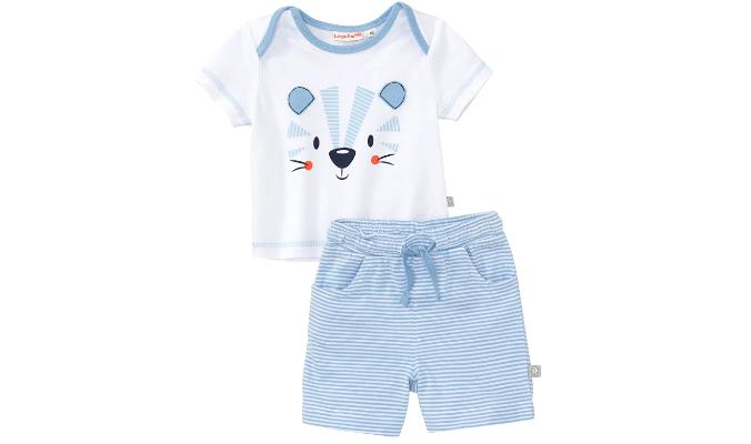 Baby-Jungen-Set mit Tiger-Frontaufdruck