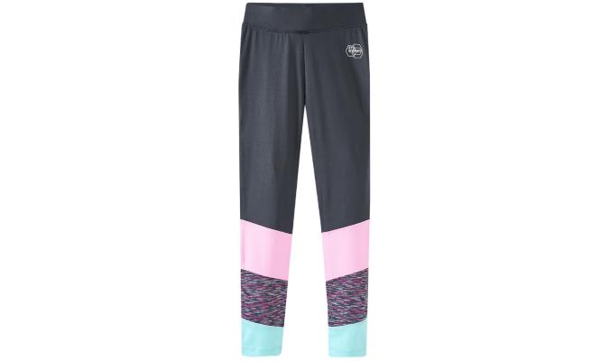 Mädchen Sport-Leggings mit Colourblocking