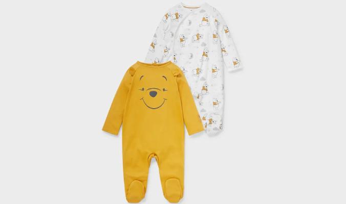 Winnie Puh Baby Schlafanzug