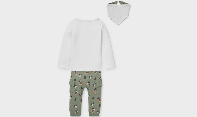 Mickey Maus Baby Outfit