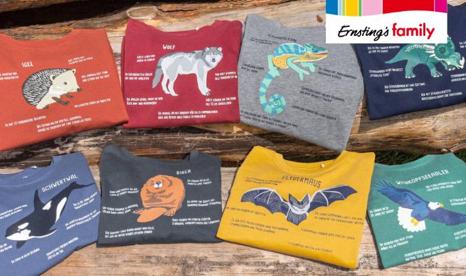 T-Shirts mit Tieren