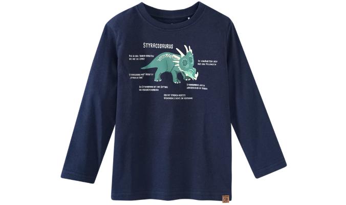T-Shirt Styracosaurus-Print