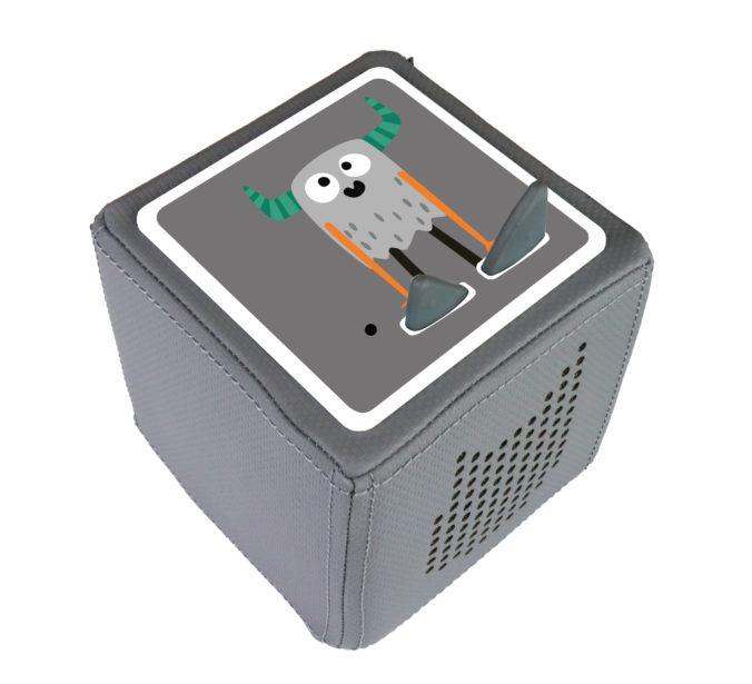 3D Monster Schutzfolie für die Toniebox