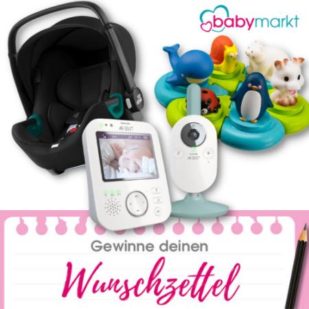 Wunschzettel gewinnen Babymarkt