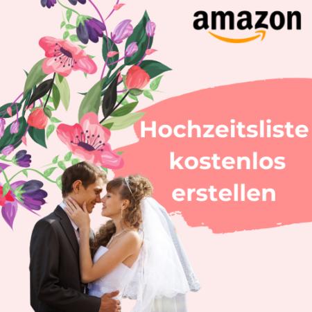 Hochzeitsliste kostenlos erstellen