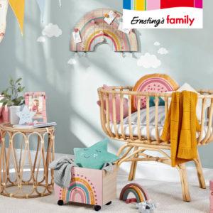 Ab 3,99€ Babyzimmer Deko bei Ernsting's Family