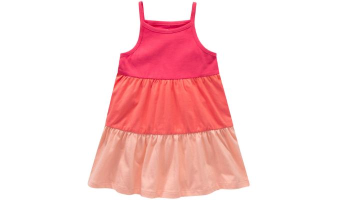 Baby Kleid mit Blockstreifen
